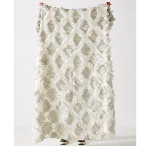 Anthropologie Augusta Throw Blanket